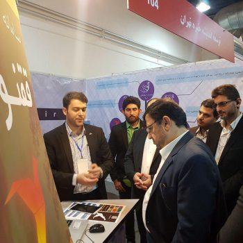 دکتر فیروزآبادی دبیر شورای فضای مجازی کشور - شرکت توسعه فناوری اطلاعات خبره